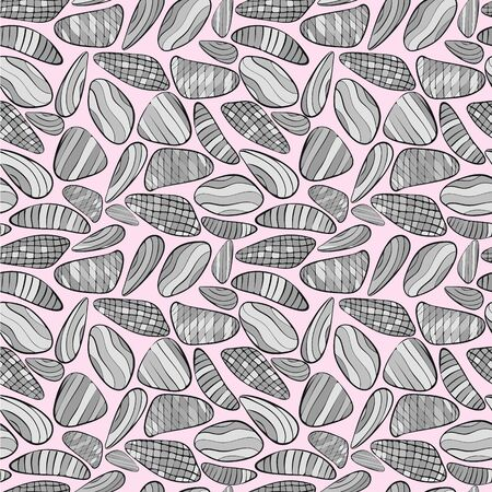 Geometric Geology in Pink Vector Repeat Seamless Pattern. Makes a great backdrop.
