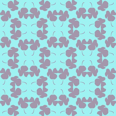 Pansy Pattern Floral Motif Modern Repeat Pattern Vector Print