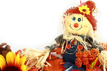 Autumn Scarecrow Series Close-Up
