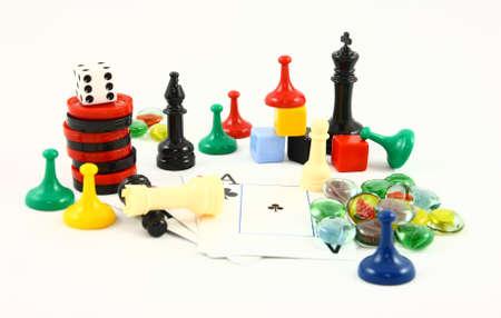 Familie plezier speel stukken