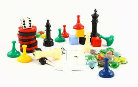 game board: Family Fun Game Pieces