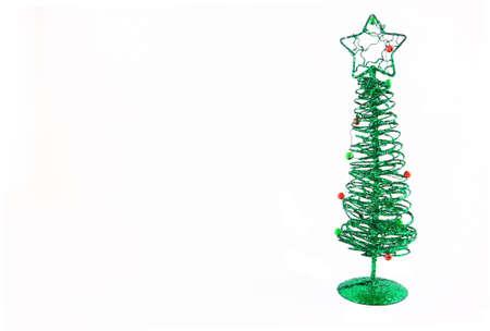Wire Christmas Tree Decoration