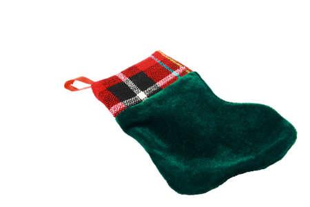 Small Velvet Christmas Stocking