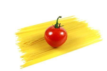Fresh Tomato with Spaghetti Noodles