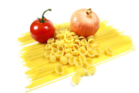 Tomato and Onion with Pasta