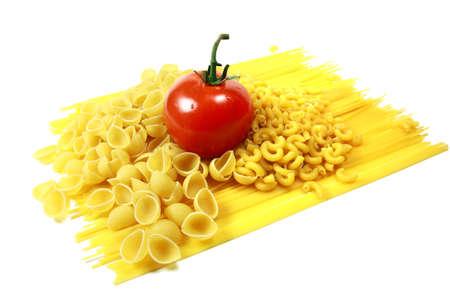 Tomato with Assorted Pastas