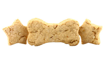 Homemade Baked Dog Biscuits photo