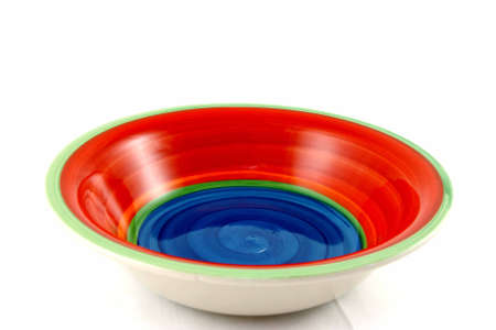 Empty Colorful Bowl