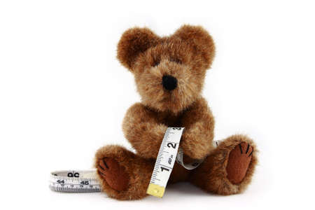 Teddy Bear With Measuring Tape