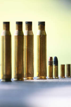 Used Ammo At Outdoor Shooting Range