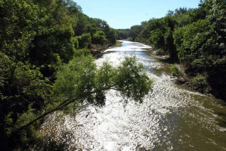 Moving Water Of Walnut River