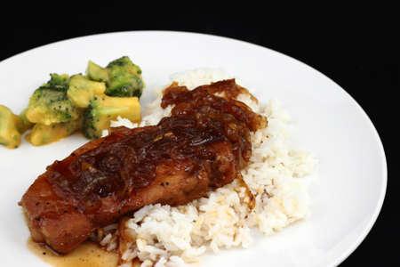 Braised Pork Chop Dinner
