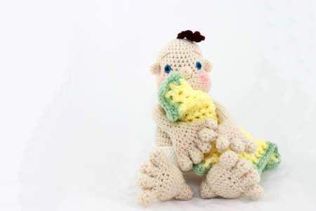 cuddly: Crocheted Baby Doll