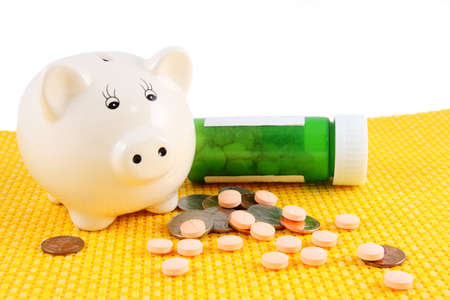 Piggy Bank With Medication