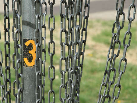 Disc Golf Target Number Three CloseUp