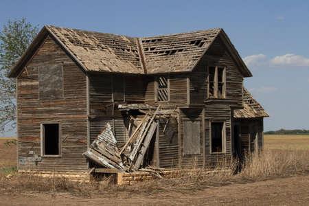 rundown: Abandoned Rundown Old Home
