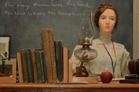 schoolhouse: One Room Schoolhouse Display