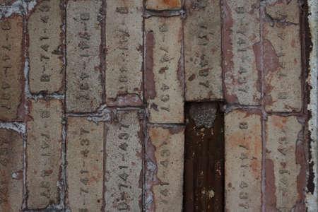 Old Bricks CloseUp Stock Photo