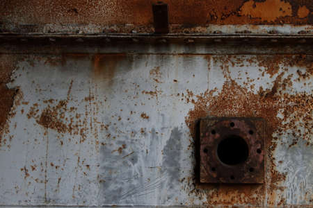 Rusty Industrial Steel Background