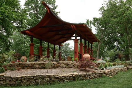 Pagoda Style Park Shelter