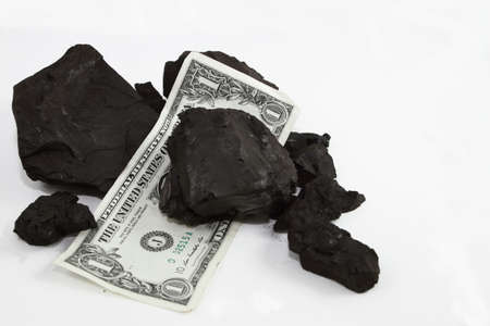 Currency And Coal Chunks