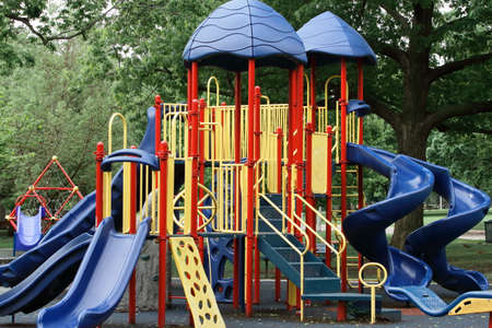 Colorful Playground Equipment
