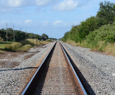 Old Rusty Railroad Tracks still in use