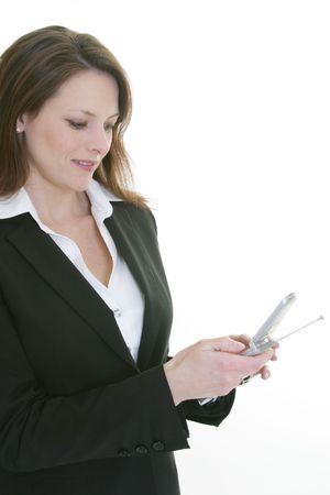 dialing: tel�fono de la c�lula de la mujer que marca