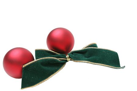 constitutionality: Christmas ornaments Stock Photo