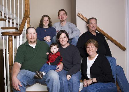 Three generations family Stock Photo - 410721