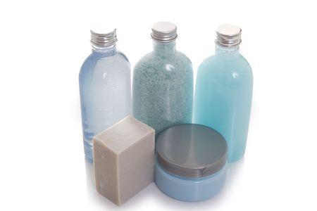 soften: Spa beauty kit - bottles of lotions
