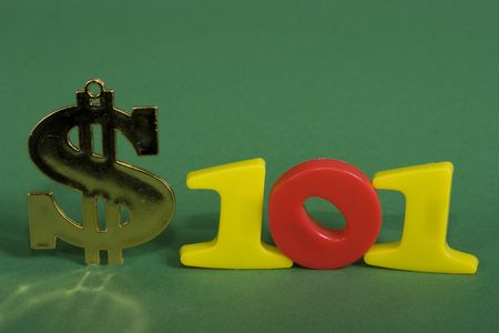 A dollar sign with the numbers 101 photo