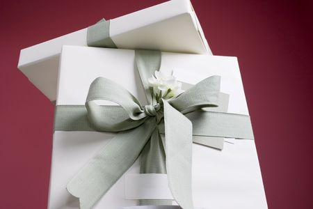 copy space: Gifts with copy space Stock Photo
