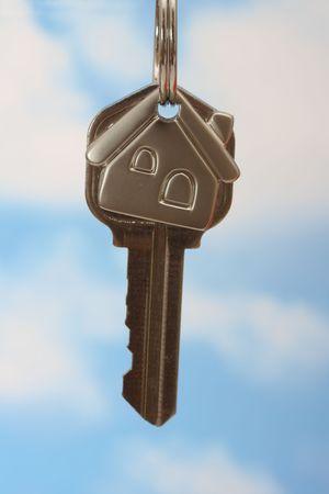 loaning: House key on keychain