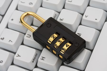 bug key: Number lock on a keyboard Stock Photo