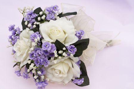 lavendar: Bouquet of flowers on lavendar background