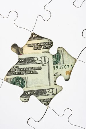 puzzling: Puzzle with money, understanding money and investing