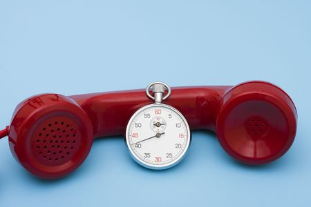 response: Stop watch with telephone  very quick response time