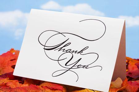葉ありがとうございますお客様にありがとうカード