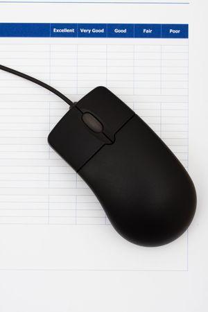 マウス、優れた顧客サービスと調査のクローズ アップ 写真素材 - 3466267
