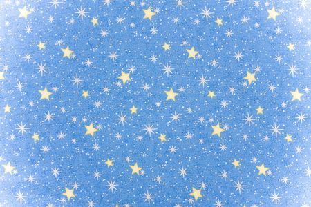 background: Blue sky filled with stars making a background, night sky background