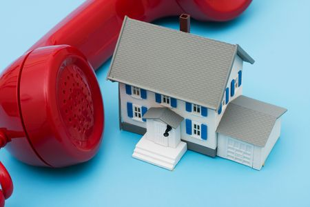 Telephone with house – assistance with your mortgage questions