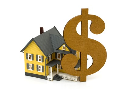 A yellow house with a golden dollar sign, Cost of housing