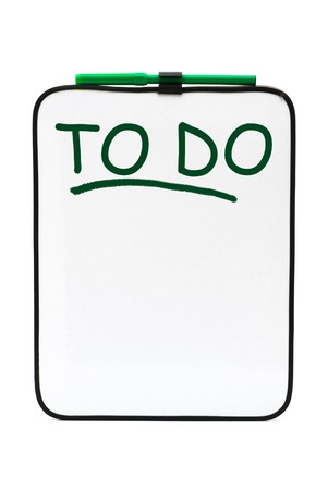 A bulletin board with marker, To Do List Stock Photo - 7608323
