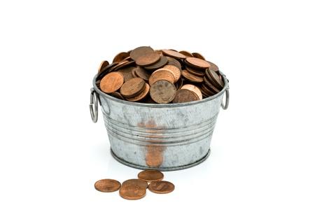 bucket of money: Bucket of money, Having a lot of money
