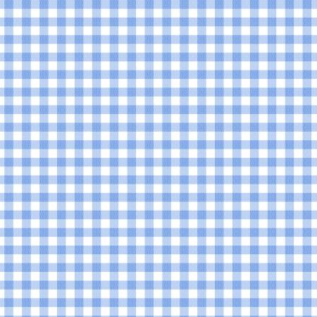 Een donkerblauwe gingham weefsel achtergrond die naadloos Stockfoto