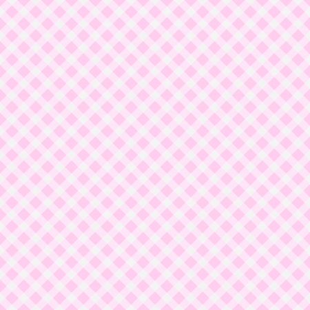 A light pink gingham fabric  background that is seamless Stock Photo