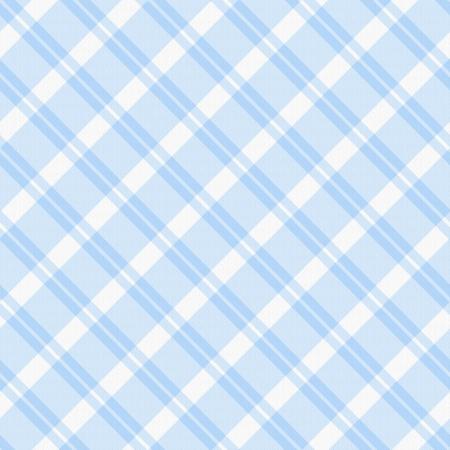 Een lichtblauwe geruite stof achtergrond dat is naadloos Stockfoto