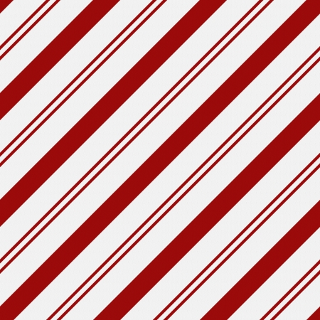 Red and White Striped Fabric Background that is seamless and repeats Stock Photo - 15328417