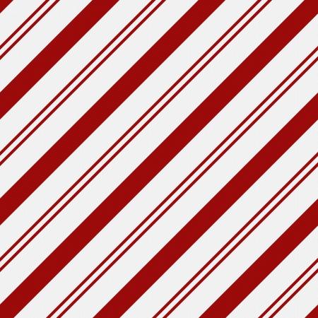 Rood en wit gestreepte stof achtergrond die naadloos is en zich herhaalt